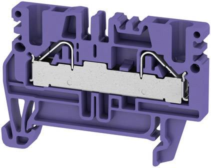 Weidmüller PDU 2.5/4 VI, 1019890000, fialová, 2000 ks