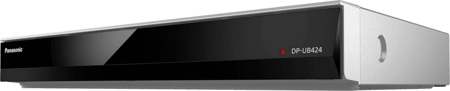 UHD Blu-Ray přehrávač Panasonic DP-UB424 Wi-Fi, Smart TV, stříbrná