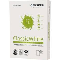 Recyklovaný papír do tiskárny STEINBEIS Classic White, 521608010001 A4, 500 listů