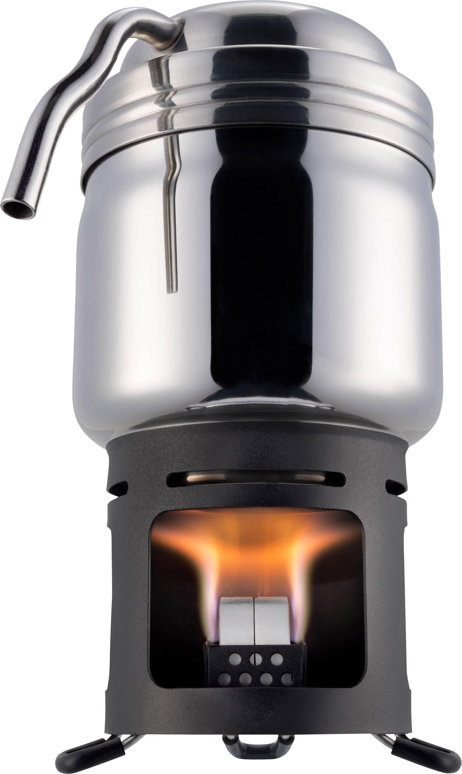 Kempingový vařič Esbit coffeemaker 20102400, nerezová ocel, hliník