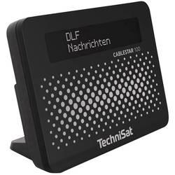 TechniSat Cablestar 100 přijímač digitálního rádia černá