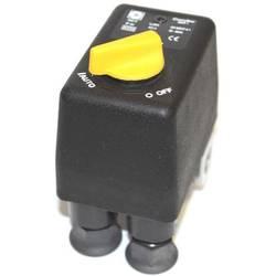 """Tlakový spínač Condor MDR1 - žlutá 1/4"""" 3x 1/4"""" vstup - 230 V Aerotec 9063204"""