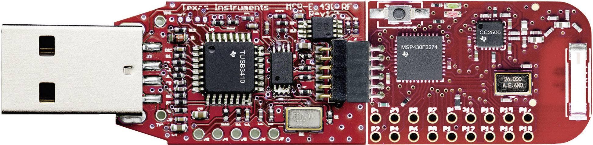 Vývojový USB modul série TI MSP430 Texas Instruments eZ430-RF2500