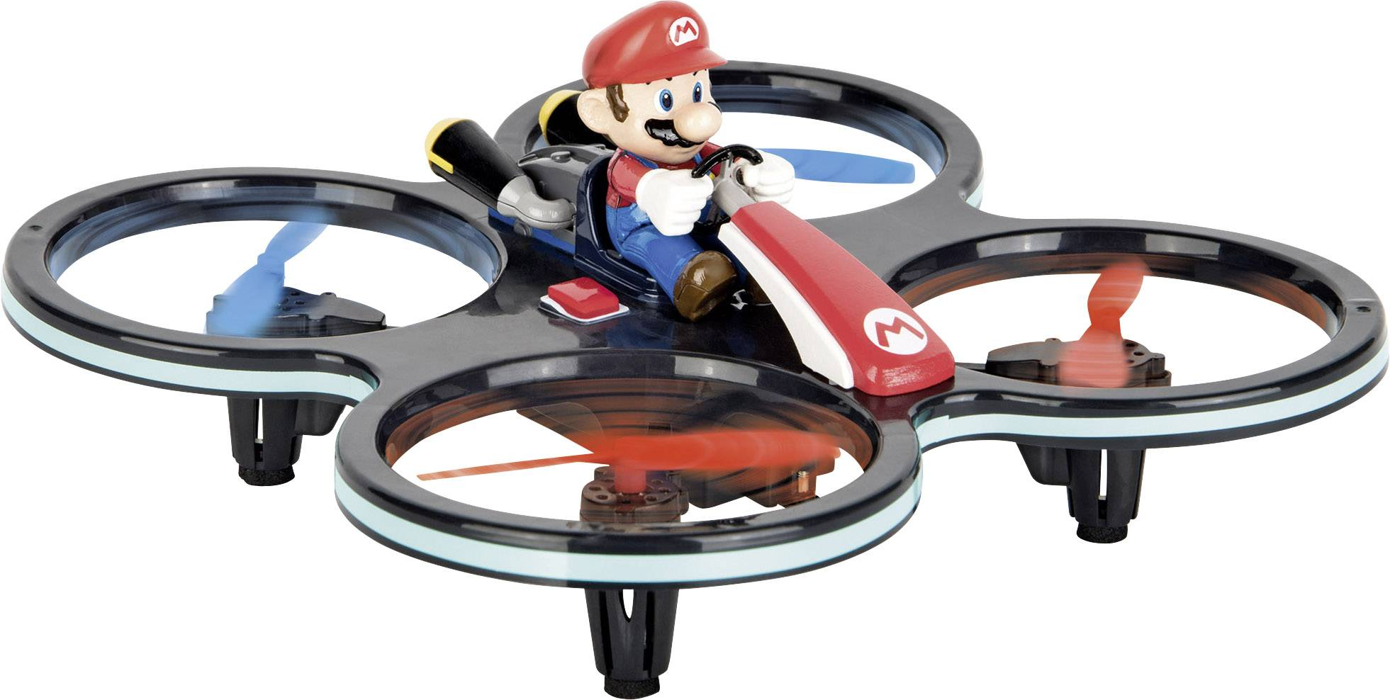 Dron Carrera RC Nintendo Mini Mario Copter, RtF