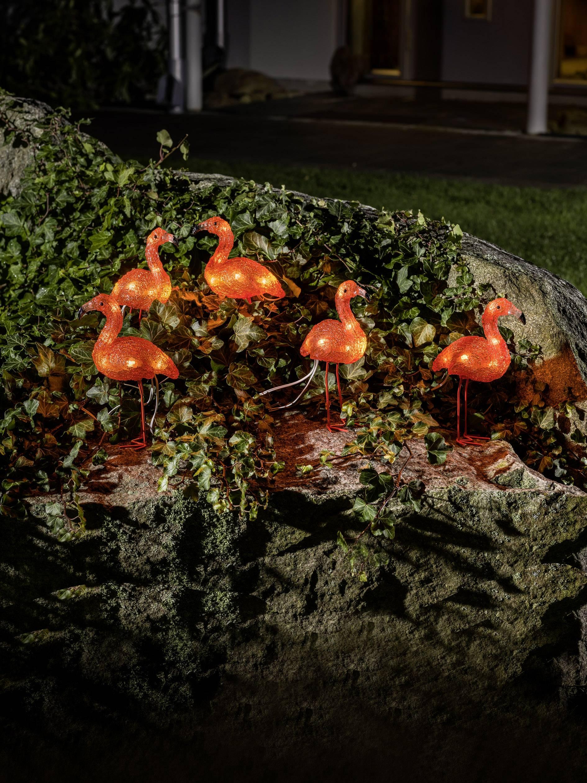 Akrylová LED postavička Konstsmide 6267-803 6267-803, jantarová