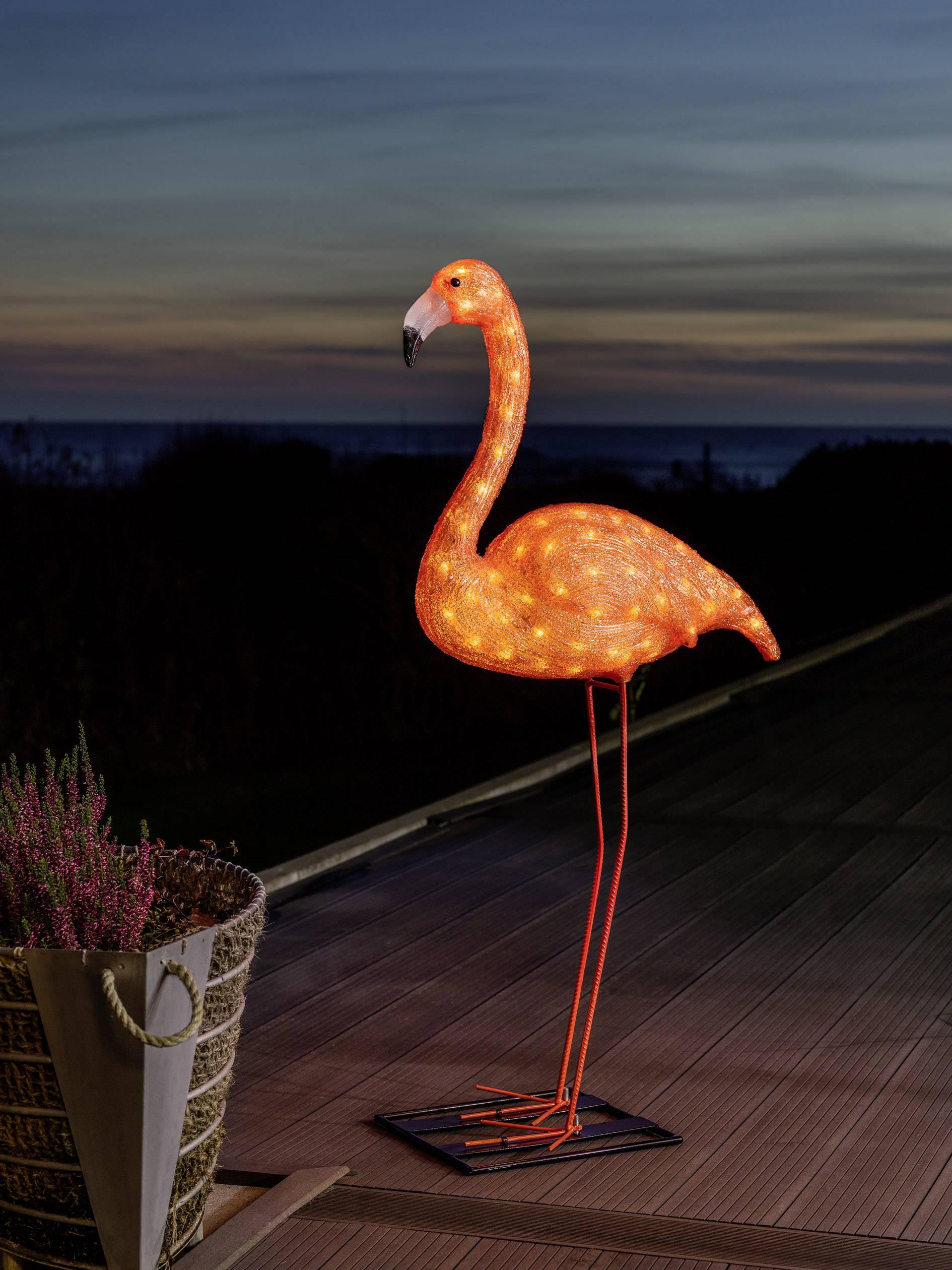 Akrylová LED postavička Konstsmide 6273-803 6273-803, jantarová