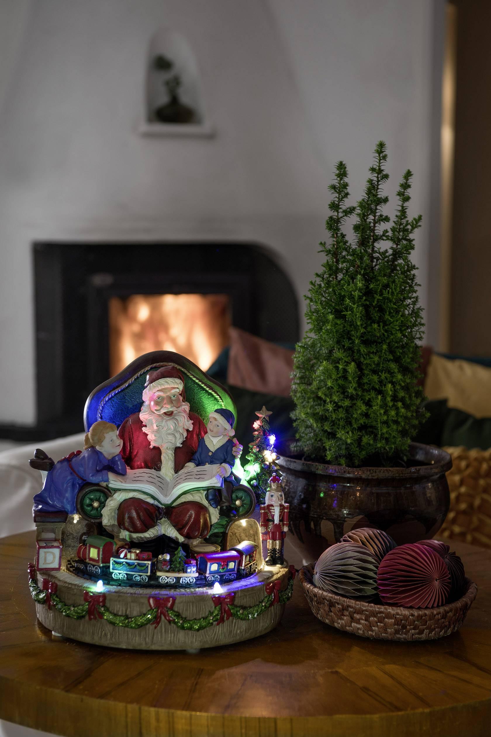 LED obraz krajiny Santa Claus Konstsmide 4215-000 4215-000