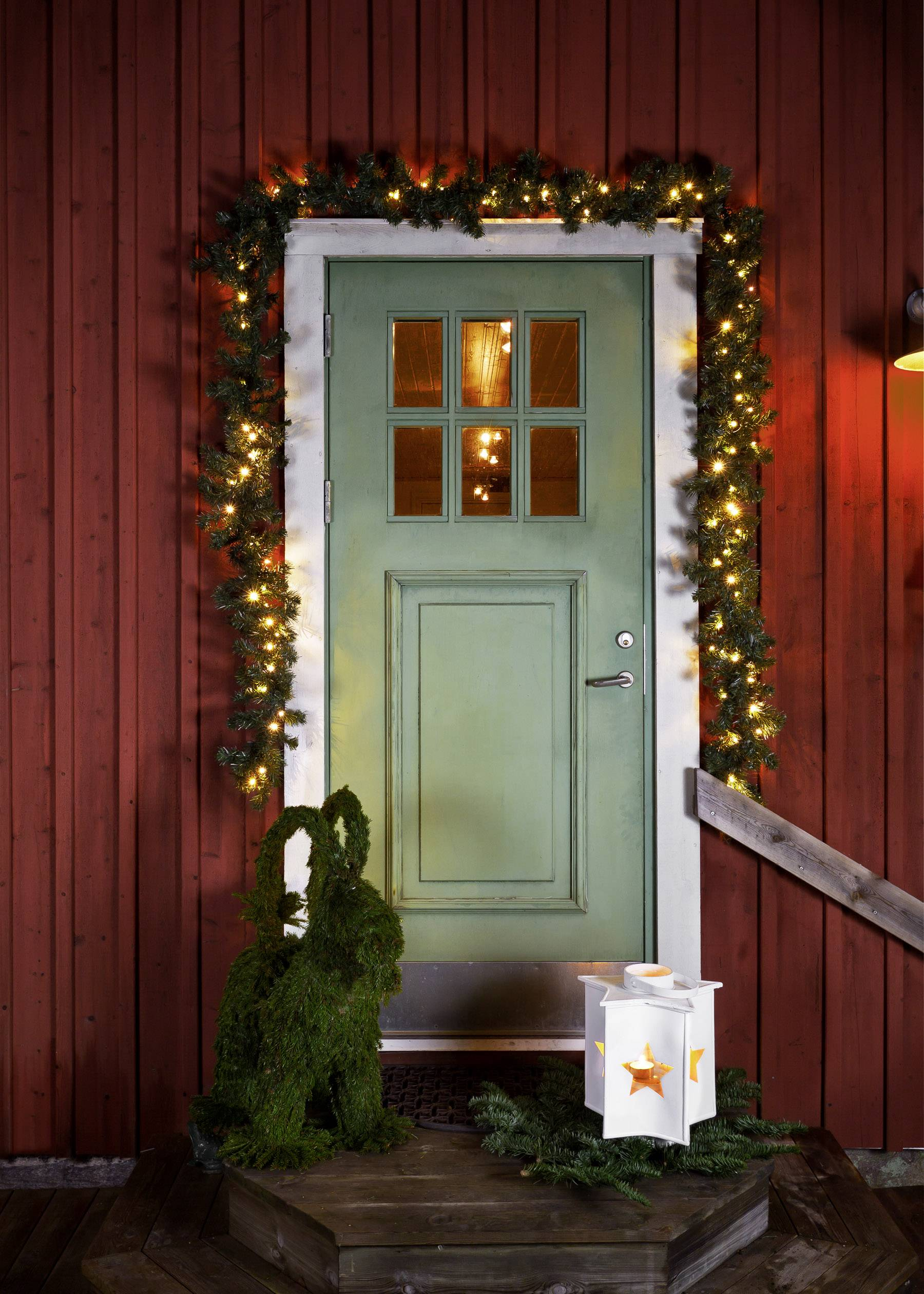 Dekorativní LED osvětlení smrk Konstsmide 2724-800 2724-800, zelená