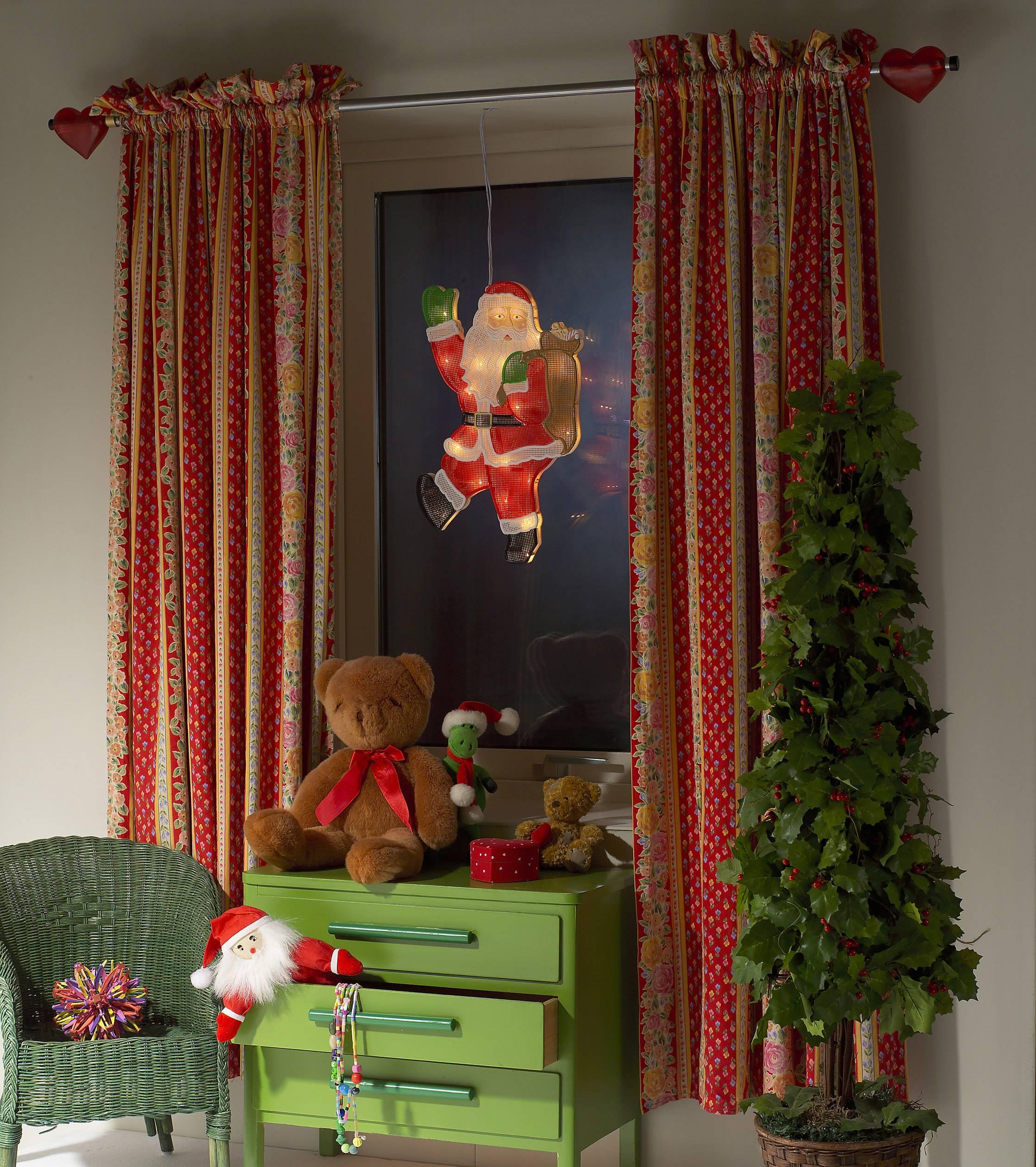 LED okenní dekorační osvětlení Santa Claus Konstsmide 2850-010 2850-010, teplá bílá