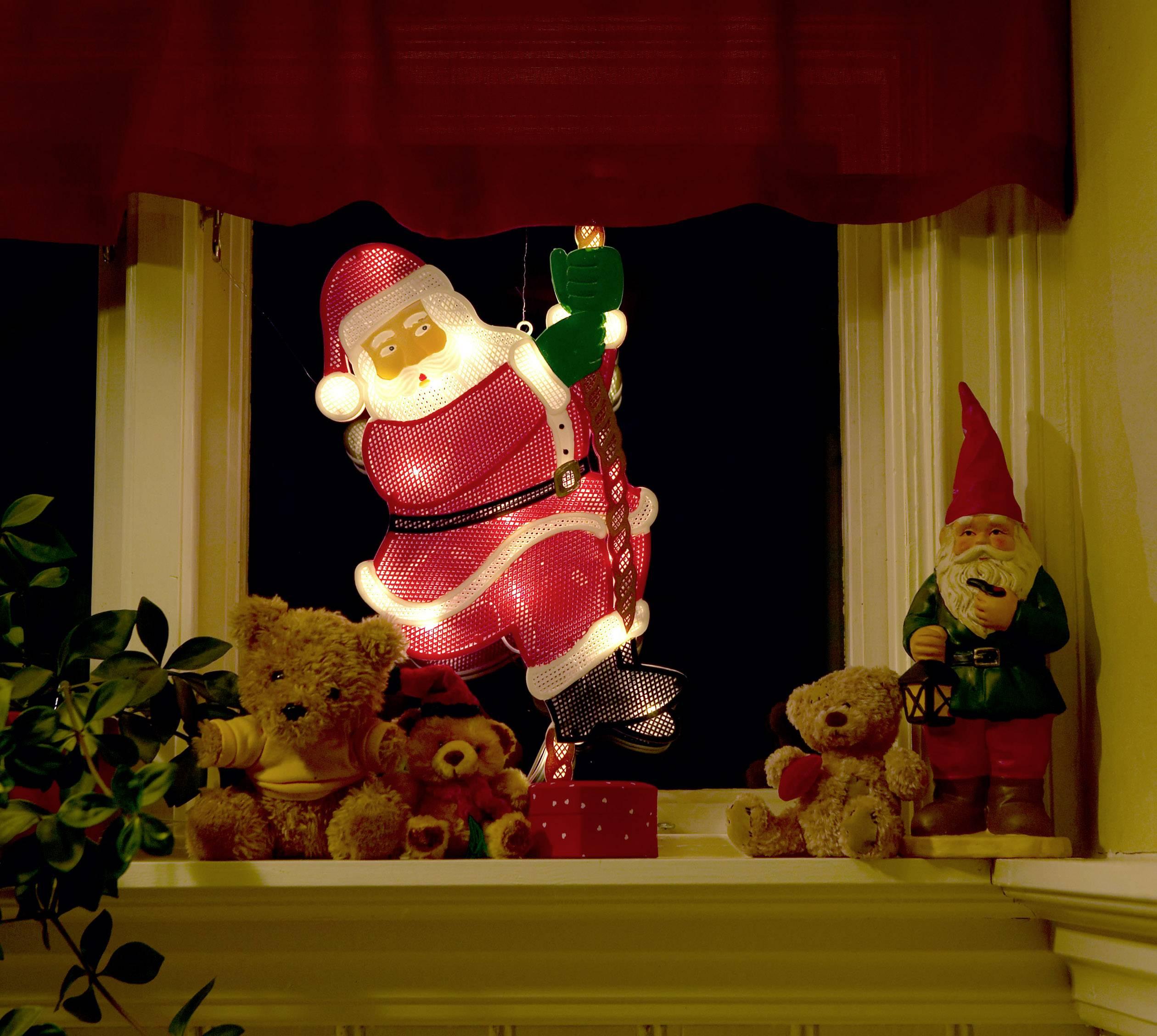 LED okenní dekorační osvětlení Santa Claus Konstsmide 2856-010 2856-010, barevná
