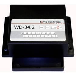 Plášť TAMS Elektronik 43-02358-01-C Příslušenství pro dekodér výhybky WD-34.2