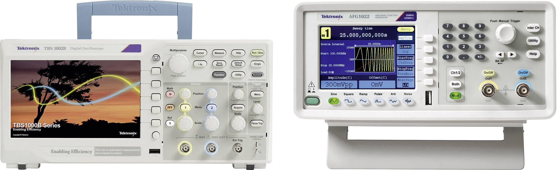 Digitální osciloskop Tektronix TBS1052B + AFG1022, 50 MHz, 2kanálový