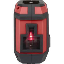 Křížový laser TOOLCRAFT dosah (max.): 12 m, Kalibrováno dle: bez certifikátu