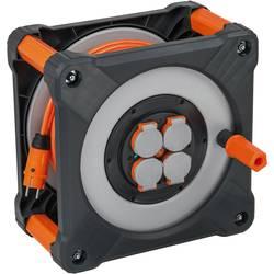 Kabelový buben Brennenstuhl 9201500200, počet zásuvek 4, 50 m, oranžová