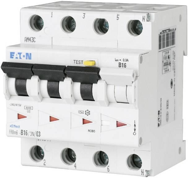 Proudový chránič/elektrický jistič Eaton 170988, 4pólový, 16 A, 0.03 A, 415 V/AC