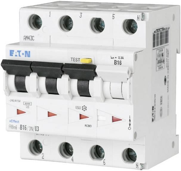 Proudový chránič/elektrický jistič Eaton 170999, 4pólový, 16 A, 0.03 A, 415 V/AC
