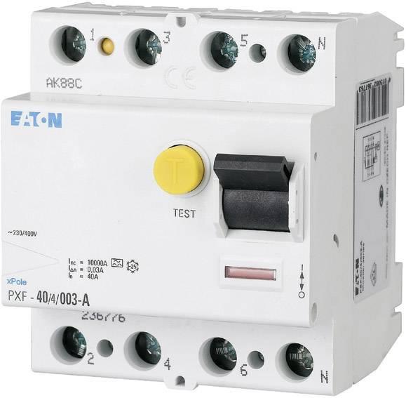 Proudový chránič Eaton 236804, 4pólový, 63 A, 0.3 A, 400 V/AC