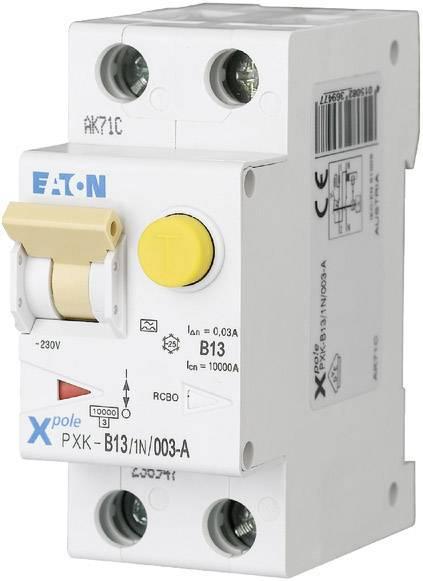Proudový chránič/elektrický jistič Eaton 236947, 2pólový, 13 A, 0.03 A, 230 V/AC
