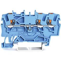 Priechodná svorka WAGO 2201-1304, 4.20 mm, modrá, 100 ks