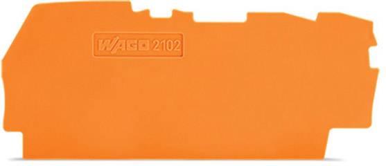 Koncová mezikus, WAGO 2102-1392, 72.20 mm x 0.80 mm x 33 mm , 100 ks