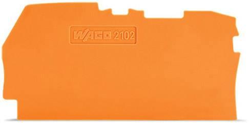Koncová mezikus, WAGO 2102-1292, 61.50 mm x 0.80 mm x 33 mm , 100 ks