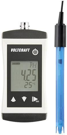 PH metr PH-410 VOLTCRAFT PH-410 VC-8603600 0,02 pH ±1 číslice (při jmenovité teplotě 25 °C) Kalibrováno dle výrobcem s certifikátem