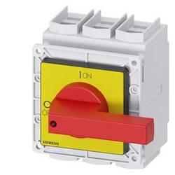 Odpínač Siemens 3LD24050TK13, 250 A, 690 V/AC červená, žlutá 3pólový 185 mm²