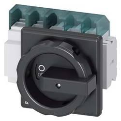 Odpínač Siemens 3LD25041TD51, 63 A, 690 V/AC 1 spínací kontakt, 1 rozpínací kontakt černá 4pólový 35 mm²