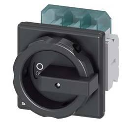 Odpínač Siemens 3LD25041TP51, 63 A, 690 V/AC 1 spínací kontakt, 1 rozpínací kontakt černá 3pólový 35 mm²