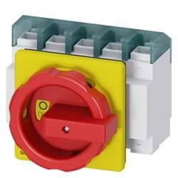 Odpínač Siemens 3LD27042TC53, 100 A, 690 V/AC červená, žlutá 4pólový 50 mm²