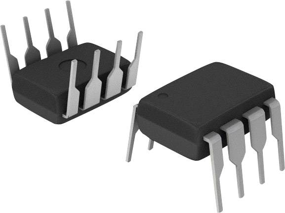 Mikroradič Microchip Technology ATTINY45-20PU, PDIP-88-Bit, 20 MHz, I/O 6