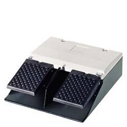 Nožní tlačítko Siemens 3SE2932-1AB20, 6 A, 2 spínací kontakty, 2 rozpínací kontakty, IP65, 1 ks