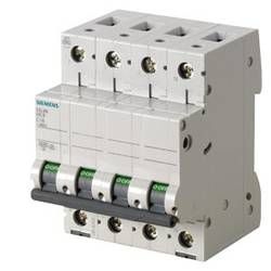 Elektrický jistič Siemens 5SL66017, 1 A, 400 V
