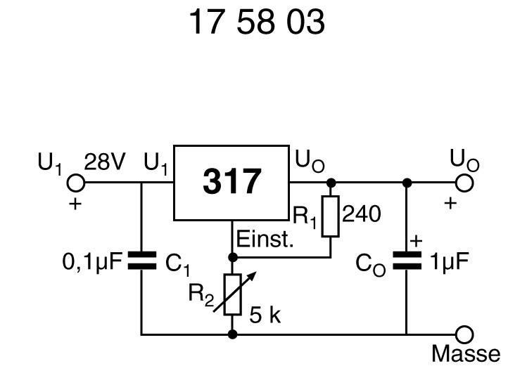 Stabilizátor napětí 0,1 A nastavitelný TL 317 LP = LM 317 LZ TO 92