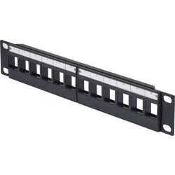 """Přední deska pro datové skříně Renkforce RF-3521388, velikost racku (HE) 1 U, 10 """""""