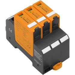 Zásuvný svodič pro přepěťovou ochranu Weidmüller VPU PV II 3 1500 2530640000, 20 kA, černá, oranžová
