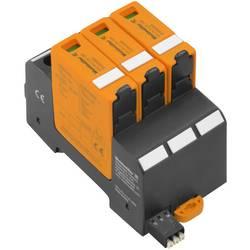 Zásuvný svodič pro přepěťovou ochranu Weidmüller VPU PV II 3 R 1500 2530650000, 20 kA, černá, oranžová