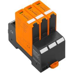 Zásuvný svodič pro přepěťovou ochranu Weidmüller VPU PV I+II 3 1000 2530610000, 20 kA, černá, oranžová