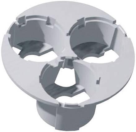 3dílný držák pro přímou optiku20 mm - bílý