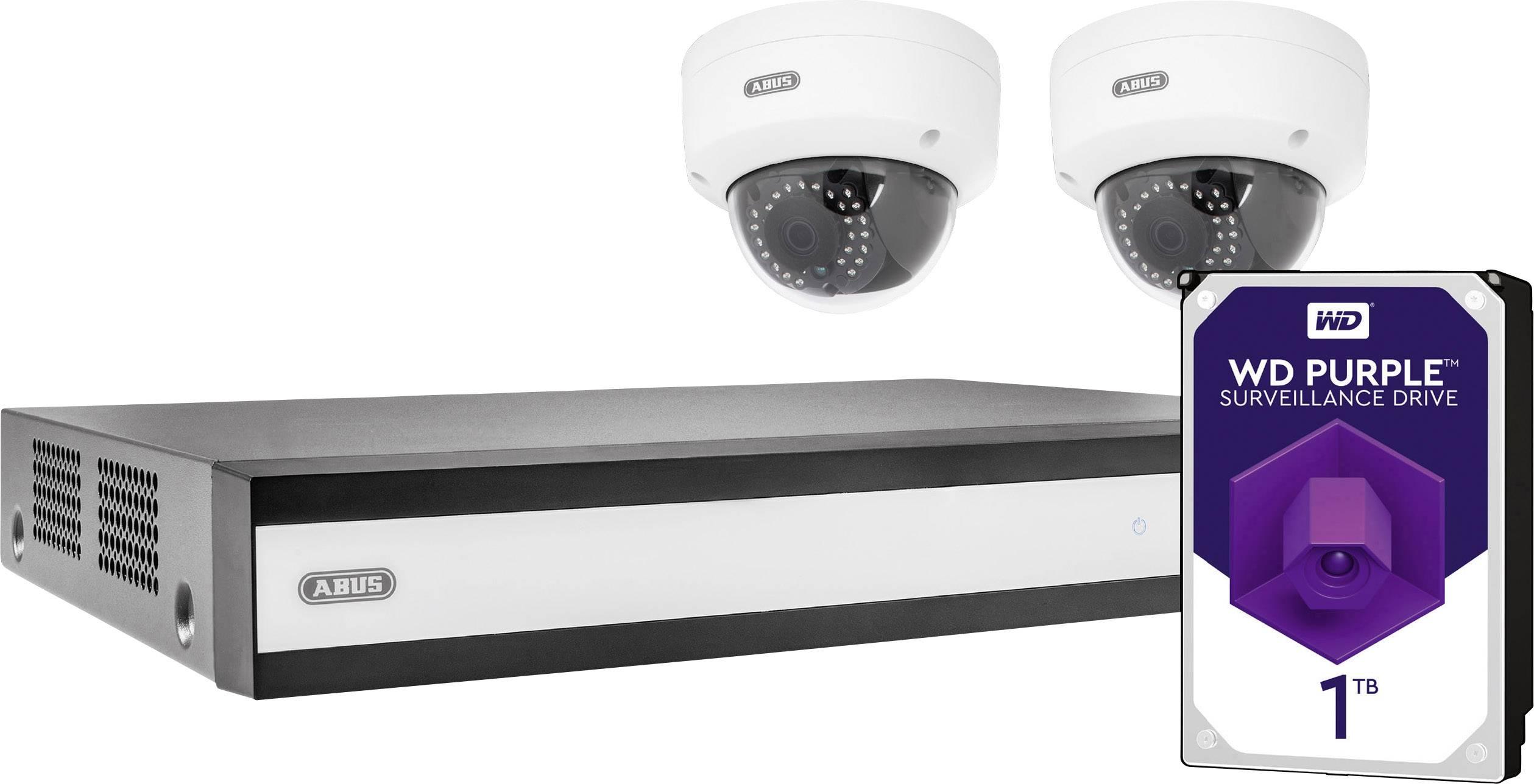 Sada bezpečnostní kamery ABUS TVVR36320D, 4kanálový