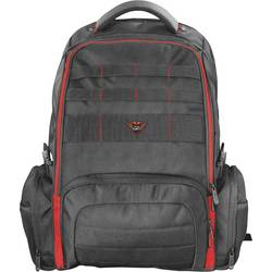 """Trust batoh na notebooky GXT 1250 Hunter S max.velikostí: 43,9 cm (17,3"""") červená, černá"""