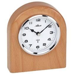 DCF stolní hodiny Atlanta Uhren 3130, buk