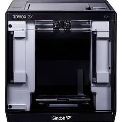 3D tiskárna Sindoh 3DWOX 2X 12,7cm barevná dotyková obrazovka, integrovaná kamera, flexibilní kovové lože, vč. softwaru