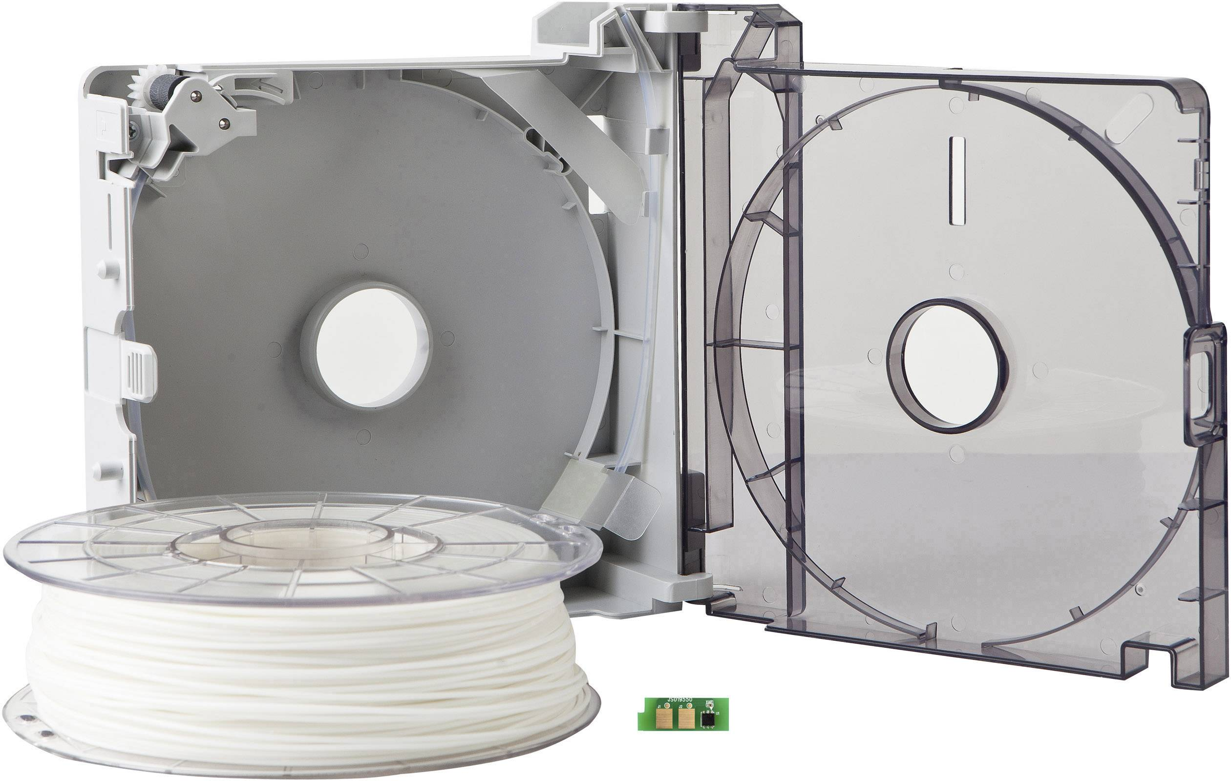 Cartridge s vláknem pro 3D tiskárny Sindoh 3DP200PWH-A, PLA plast, 1.75 mm, 700 g, bílá