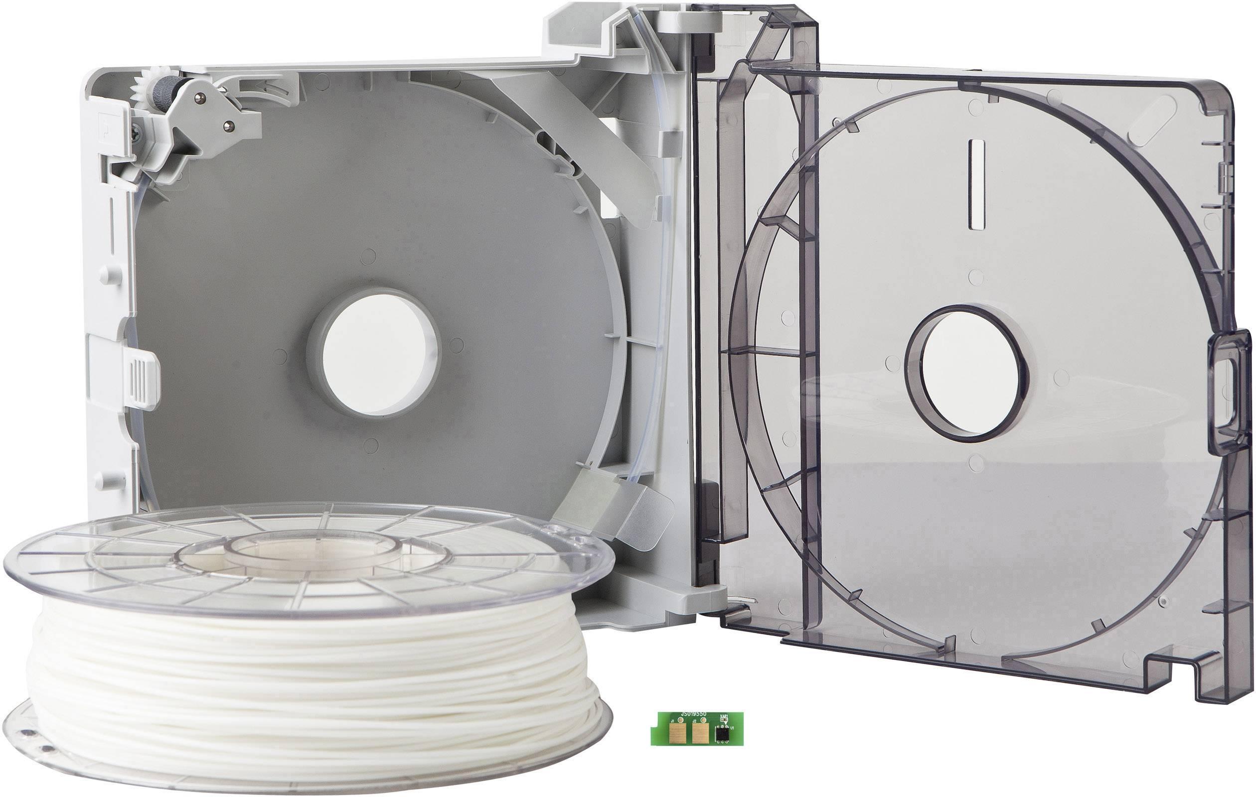 Cartridge s vláknem pro 3D tiskárny Sindoh 3DP200AWH-A, ABS plast, 1.75 mm, 600 g, bílá