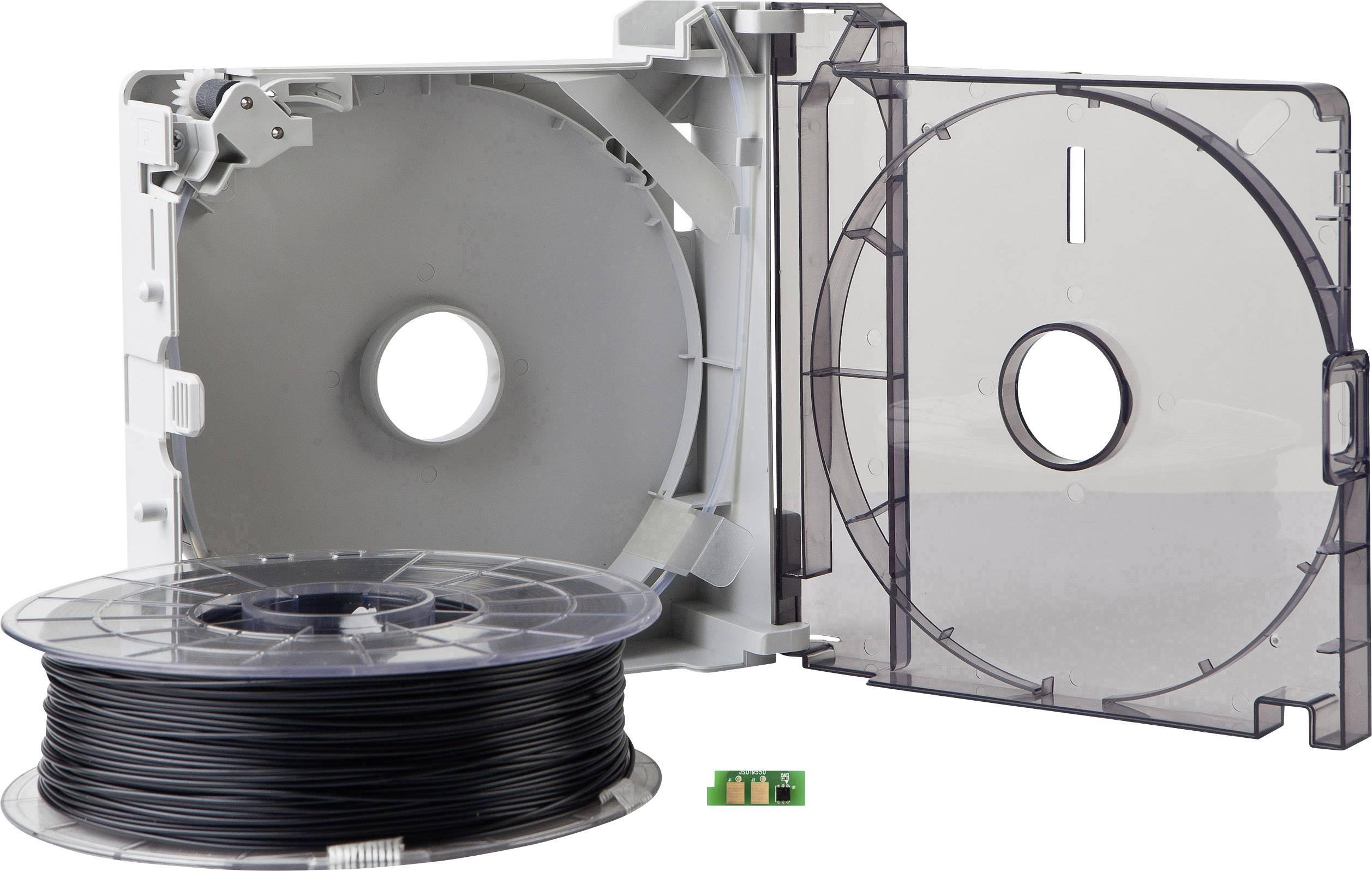 Cartridge s vláknem pro 3D tiskárny Sindoh 3DP200ABK-A, ABS plast, 1.75 mm, 600 g, černá