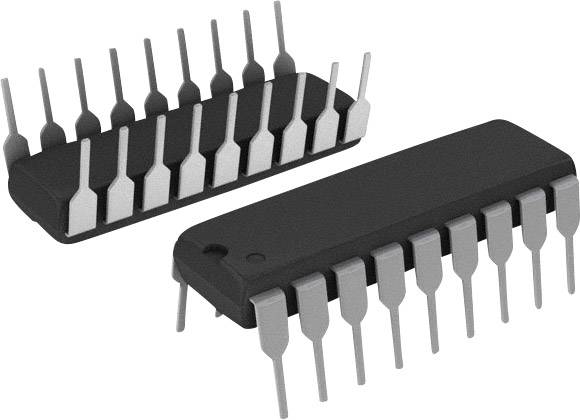 IO rozhranie - rozšírenie E-A Microchip Technology MCP23008-E/P, 1.7 MHz, PDIP-18