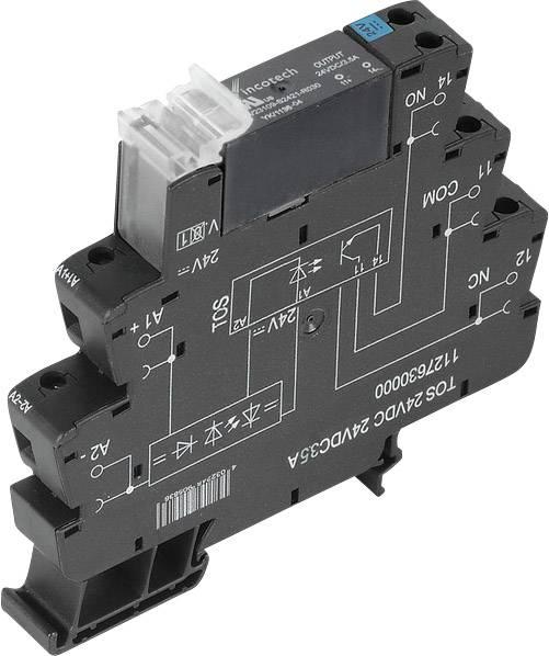 Polovodičové relé Weidmüller TOS 24 V/DC 24 VDC3,5A 1127630000, 10 ks
