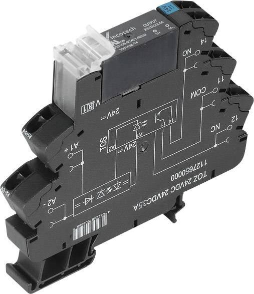 Polovodičové relé Weidmüller TOZ 24VDC 230 V/AC1A 1127700000, 10 ks