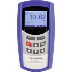 Multifunkční měřicí přístroj Greisinger G7500, pH hodnota , redox (ORP) , teplota, saturace O2, koncentrace O2, vodivost -2.00 - 16.00 pH, kalibrováno dle bez certifikátu